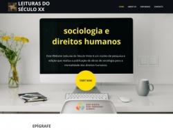 Este Website Leituras do Século Vinte é um núcleo de pesquisa e edição que realiza a publicação de obras de sociologia para a mentalidade dos direitos humanos.